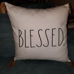 Blessed Rae Dunn Pillow